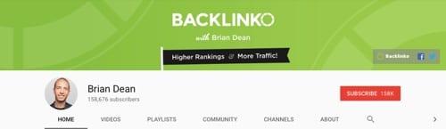 11 kênh YouTube hữu ích cho digital marketing Backlinko