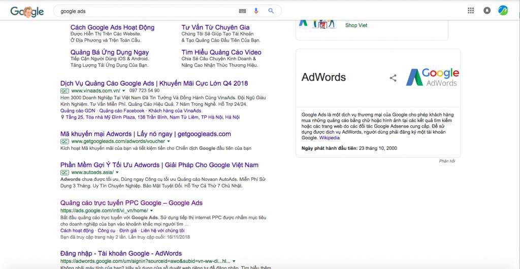 Google chính thức tung ra thanh tìm kiếm mới đính ở đầu trang