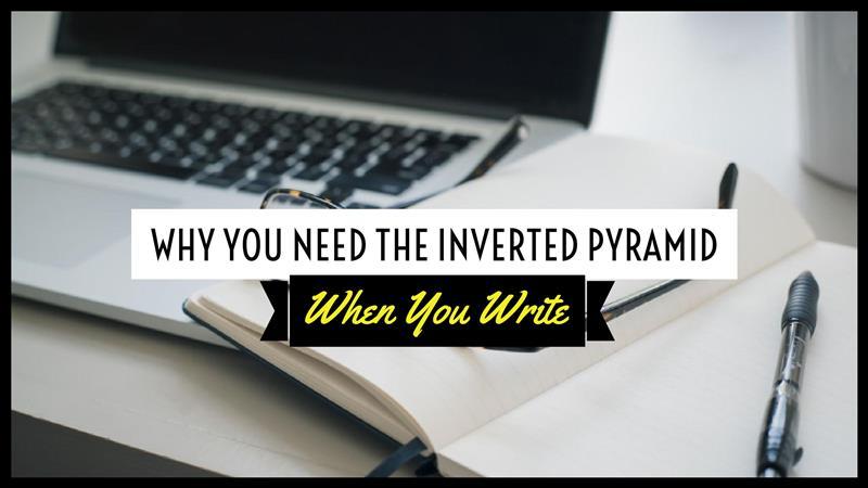 Cách viết bài theo mô hình kim tự tháp ngược