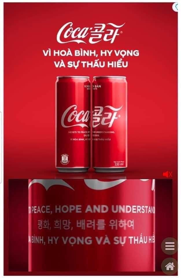 Coca Cola thì luôn khác biệt rồi
