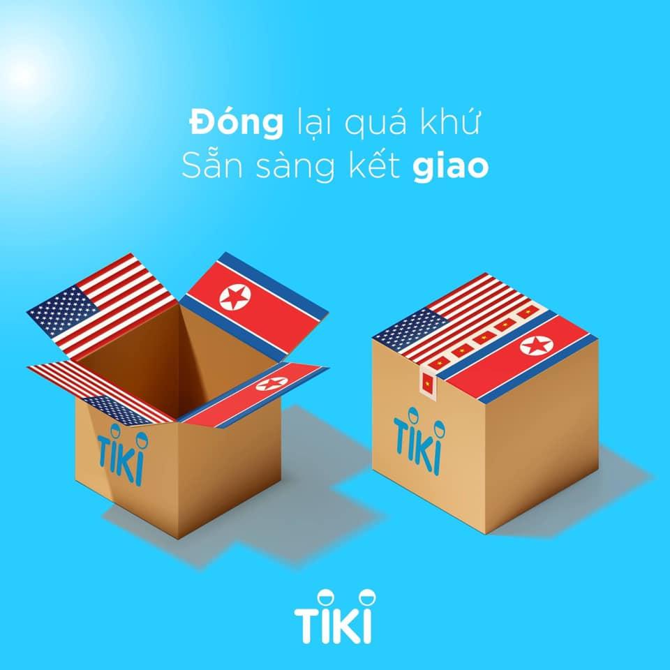 Thương hiệu mạnh Tiki chứng tỏ phẩm chất sáng tạo của mình không hề thua kém các Agency nổi tiếng