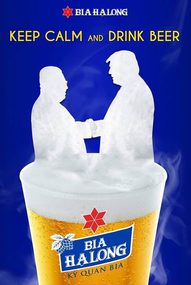 Hãy bình tĩnh và uống bia Hạ Long