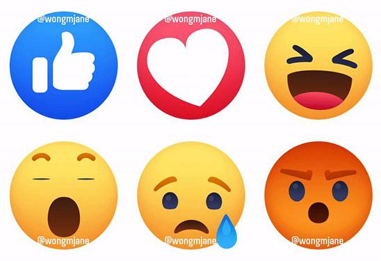 Facebook thử nghiệm các Reactions mới, hoạt hình hơn