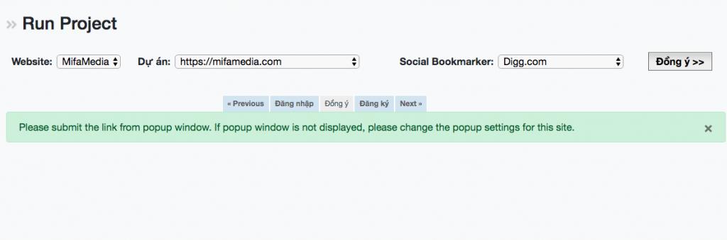 SEOMetrics update tính năng Social Bookmarker
