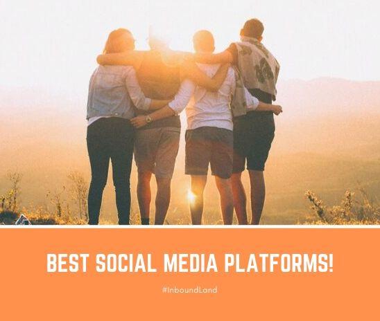 Cách chọn nền tảng truyền thông xã hội tốt nhất [Infographic]