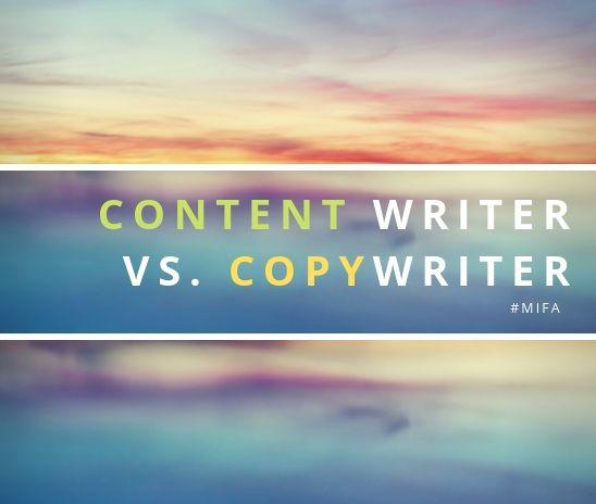 Content writer và Copywriter khác nhau thế nào?